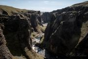 Fjaorargljufur Canyon - Island